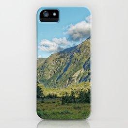 Monkey Creek, New Zealand Landscape iPhone Case