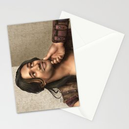 Cute Nasir (Nagron, Spartacus) Color Version Stationery Cards