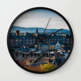 Edinburgh Sunrise Wall Clock