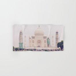 Beautiful man-made wonder Taj Mahal Hand & Bath Towel