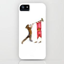 Herald Chipmunk iPhone Case