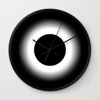 nirvana Wall Clocks featuring NIRVANA by THE USUAL DESIGNERS