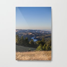 Alpine Lake Metal Print
