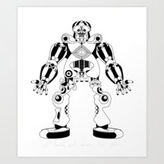 Jaeger //: Hit Me Art Print