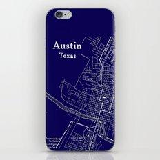 Vintage Austin Blue iPhone & iPod Skin