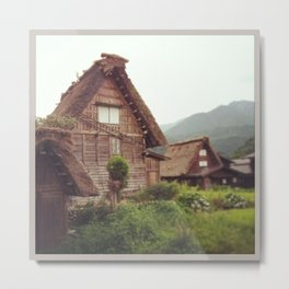 Historic Shirakawa Village Japan Metal Print