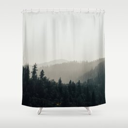 Northern California Forest Shower Curtain