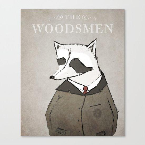 The Woodsmen Canvas Print