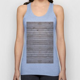 Weathered boards texture abstract Unisex Tank Top