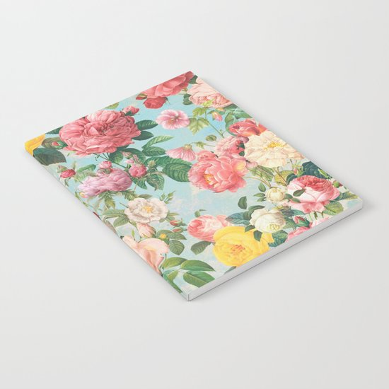 Floral B Notebook