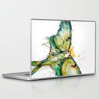 luna Laptop & iPad Skins featuring Luna by Abby Diamond
