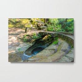 Natures Bath Tub Metal Print
