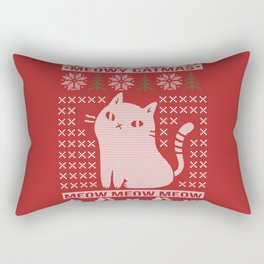 MEOWY CATMAS Rectangular Pillow
