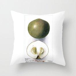 White Sapote Throw Pillow