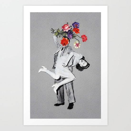 Romantic Savage Art Print