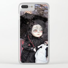 Vanessa the little vampire Clear iPhone Case