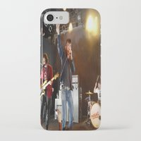 arctic monkeys iPhone & iPod Cases featuring Arctic Monkeys in Williamsburg, New York by The Electric Blue / YenHsiang Liang