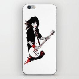 Joan Jett, The Queen of Rock iPhone Skin
