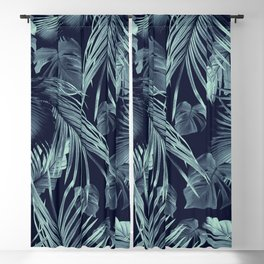 Tropical Jungle Leaves Dream #9 #tropical #decor #art #society6 Blackout Curtain