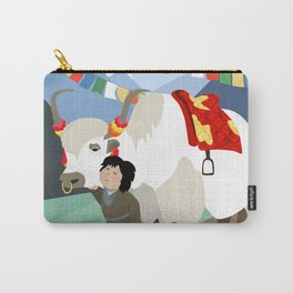 A child and his best friend Carry-All Pouch