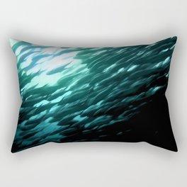 Thousands of jack fish Rectangular Pillow