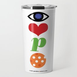 Eye Love P Ball Rebus #2 Travel Mug
