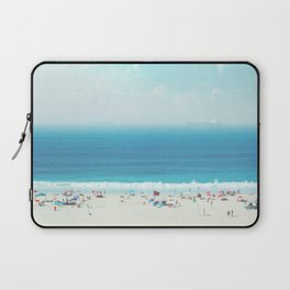 Elevated View Of Beach Of A Summer Day Laptop Sleeve