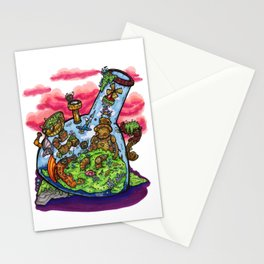 A Very Curious Waterpipe Stationery Cards