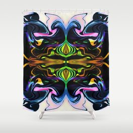 The Curse of Jeconiah Shower Curtain