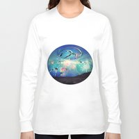 ballet Long Sleeve T-shirts featuring Ballet by Cs025