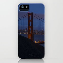 Golden Gate Bridge Long Exposure iPhone Case
