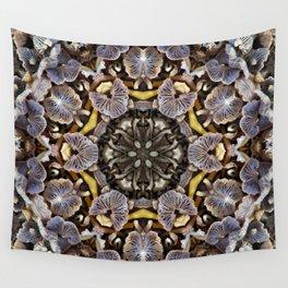 Mushroom Mandala Wall Tapestry