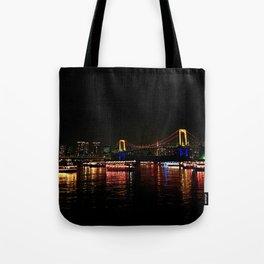 Rainbow Bridge (Odaiba) Tote Bag