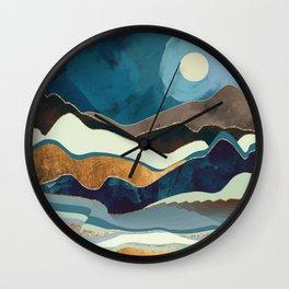 Autumn Hills Wall Clock