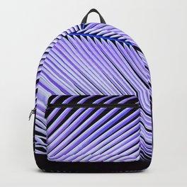 Palm leaf - ultra violet Backpack