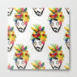 fruit har pattern Metal Print