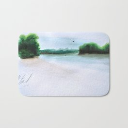 The Middl Grounds Bath Mat