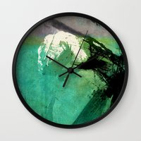 hulk Wall Clocks featuring Hulk by Fernando Vieira