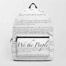 United States Bill of Rights US Constitution Backpack