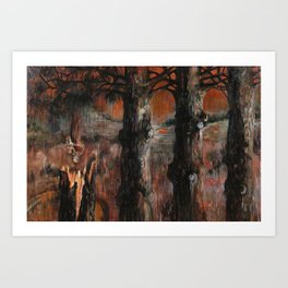 For Searchers of Lost Things Art Print