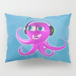 DJ Octopus Pillow Sham