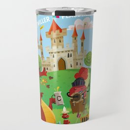Medieval festival Travel Mug