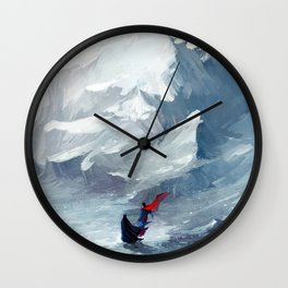 Adventure with you Wall Clock