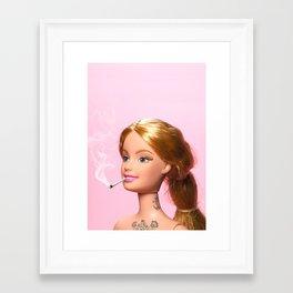 Doll Grown Up Framed Art Print