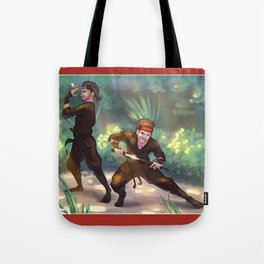 Ninja Zouis Tote Bag