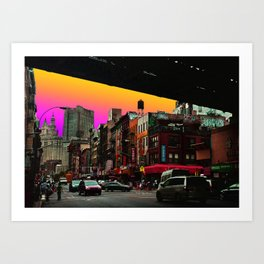 C-Town - New York Art Print