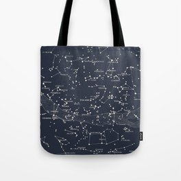 Carte du Ciel I Tote Bag
