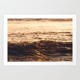 Atlantic Ocean Waves 4181 Art Print