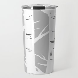Gray Birches Travel Mug
