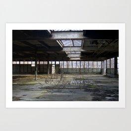 Brick Works Art Print